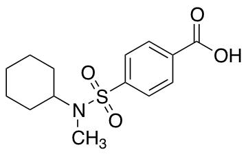 4-{[Cyclohexyl(methyl)amino]sulfonyl}benzoic Acid