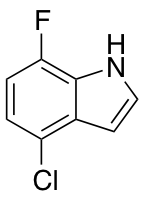 4-Chloro-7-fluoroindole