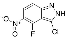 3-Chloro-4-fluoro-5-nitro (1H)Indazole