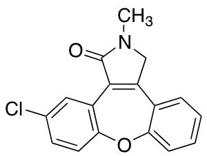11-Chloro-2-methyl-2,3-dihydro-1H-dibenzo[2,3:6,7]oxepino[4,5-c]pyrrol-1-one