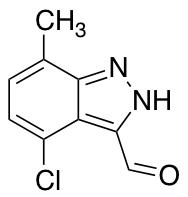 4-Chloro-7-methyl-3-formyl (1H)Indazole