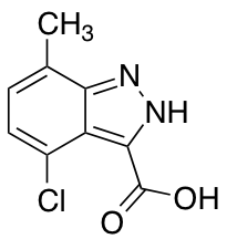4-Chloro-7-methyl-3-(1H)indazole Carboxylic Acid
