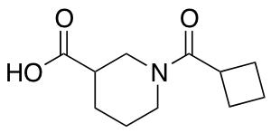 1-(cyclobutylcarbonyl)piperidine-3-carboxylic Acid