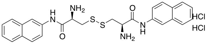 L-Cystine Bis(-naphthylamide) Dihydrochloride