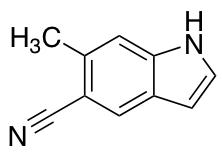 5-Cyano-6-methyl Indole
