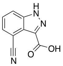 4-Cyano-1H-indazole-3-carboxylic Acid
