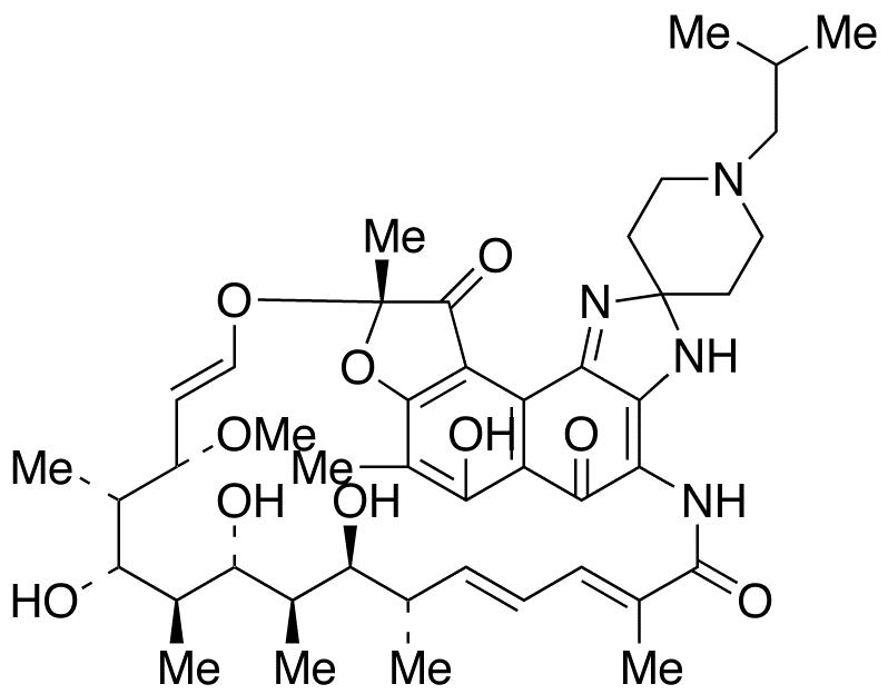 25-O-Deacetyl Rifabutin