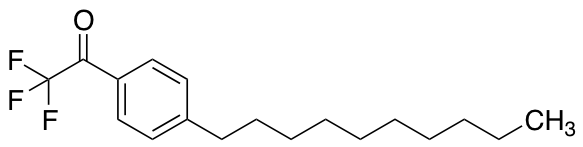 p-Decyl-α,α,α-trifluoroacetophenone
