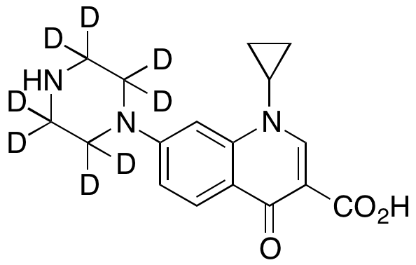 Desfluorociprofloxacin-d8