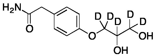 Des(isopropylamino) Atenolol Diol-d5