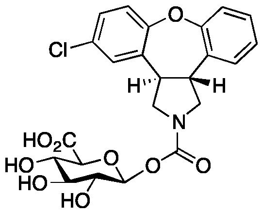 N-Desmethyl Asenapine N-Carbamoyl Glucuronide