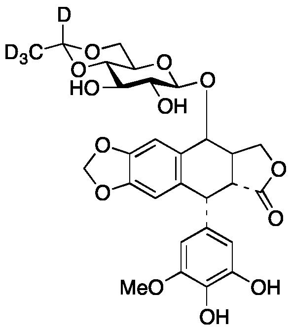 3'-O-Desmethyl Etoposide-d4