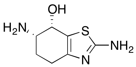 (6S,7S)-2,6-Diamino-4,5,6,7-tetrahydro-7-benzothiazolol