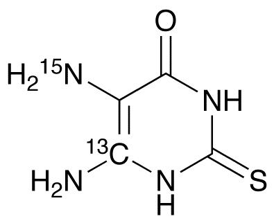 5,6-Diamino-2-thiouracil-13C,15N