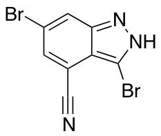 3,6-Dibromo-4-cyano(1H)indazole