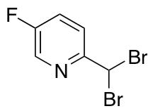 2-Dibromomethyl-5-fluoro-pyridine