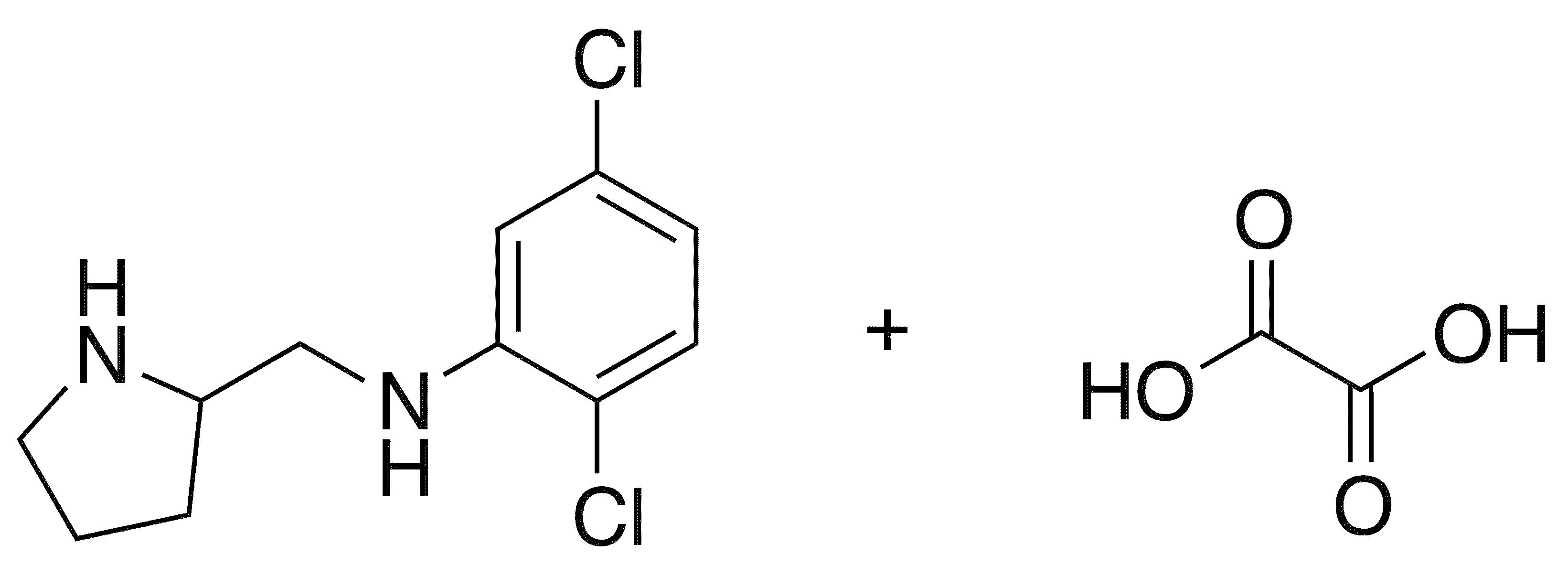 2,5-Dichloro-n-(2-pyrrolidinylmethyl)aniline Oxalate