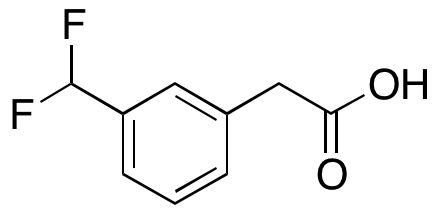 3-(Difluoromethyl)benzeneacetic Acid