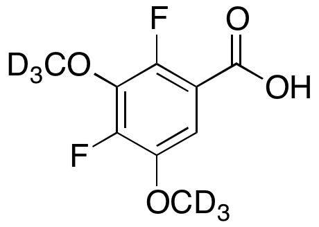 2,4-Difluoro-3,5-dimethoxybenzoic Acid-d6