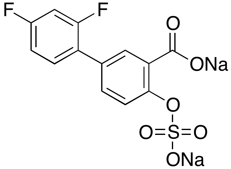 Diflunisal Sulfate Disodium Salt