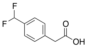 2-[4-(Difluoromethyl)phenyl]acetic Acid