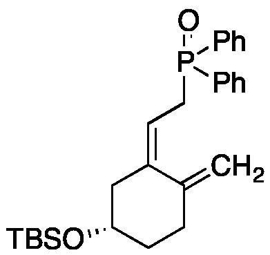 [S-(Z)]-[2-[5-[[(1,1-Dimethylethyl)dimethylsilyl]oxy]-2-methylenecyclohexylidene]ethyl]diphenylphosphine Oxide