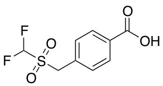 4-(Difluoromethanesulfonylmethyl)benzoic Acid