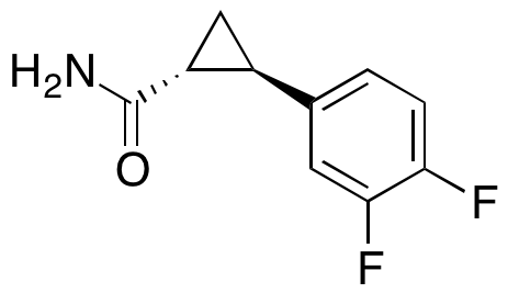 (1R,2R)-2-(3,4-Difluorophenyl)cyclopropanecarboxamide