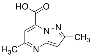 2,5-Dimethylpyrazolo[1,5-a]pyrimidine-7-carboxylic Acid
