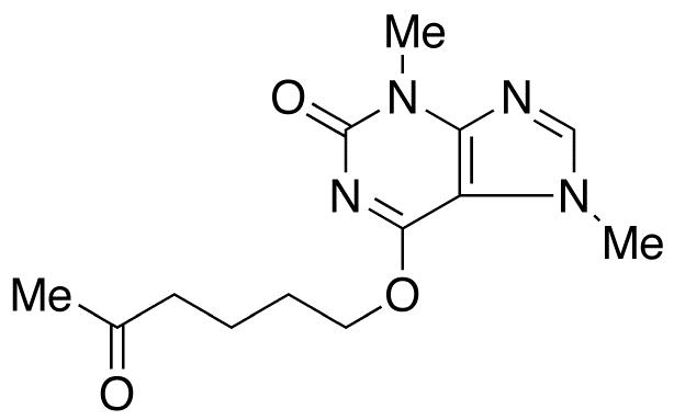 3,7-Dihydro-3,7-dimethyl-6-[(5-oxohexyl)oxy]-2H-purin-2-one
