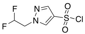 1-(2,2-Difluoroethyl)-1H-pyrazole-4-sulfonyl Chloride