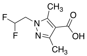 1-(2,2-Difluoroethyl)-3,5-dimethyl-1H-pyrazole-4-carboxylic Acid