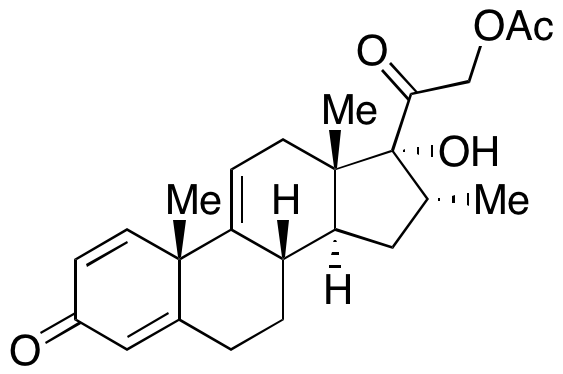 17,21-Dihydroxy-16-methylpregna-1,4,9(11)-triene-3,20-dione 21-Acetate