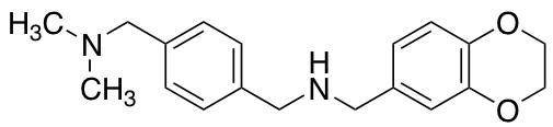 (2,3-Dihydro-1,4-benzodioxin-6-ylmethyl)({4-[(dimethylamino)methyl]phenyl}methyl)amine