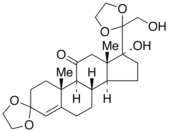 17,21-Dihydroxy-pregn-5-ene-3,11,20-trione 3,20-Diethylene Ketal