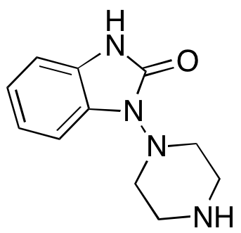 1,3-Dihydro-1-(1-piperazinyl)-2H-benzimidazol-2-one