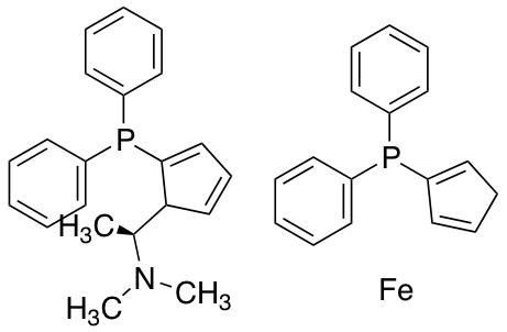(S)-N,N-Dimethyl-1-[(R)-1',2-bis(diphenylphosphino)ferrocenyl)ethylamine