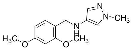 N-[(2,4-Dimethoxyphenyl)methyl]-1-methyl-1H-pyrazol-4-amine