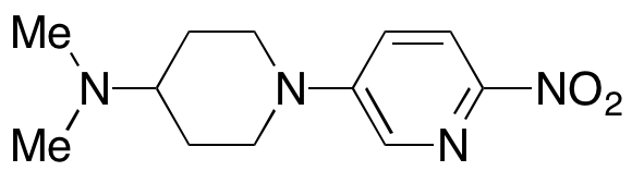 N,N-Dimethyl-1-(6-nitro-3-pyridinyl)-4-piperidinamine