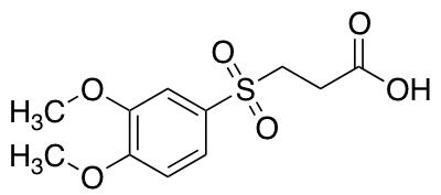 3-(3,4-Dimethoxybenzenesulfonyl)propanoic Acid