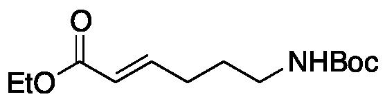 (2E)-6-[[(1,1-Dimethylethoxy)carbonyl]amino]-2-hexenoic Acid Ethyl Ester