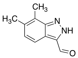 6,7-Dimethyl-3-formyl (1H)indazole