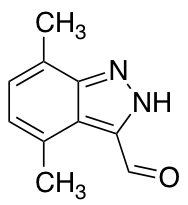 4,7-Dimethyl-3-formyl (1H)indazole