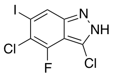 3,5-Dichloro-4-fluoro-6-iodo 1H-Indazole