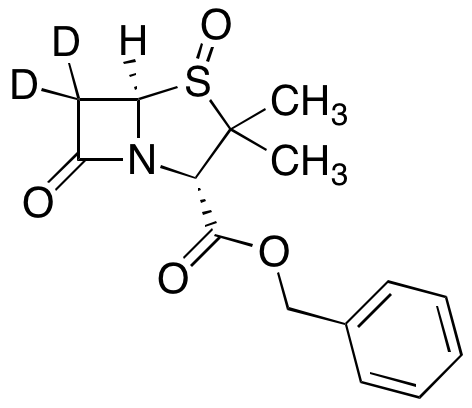 (2S,4S,5R)-3,3-Dimethyl-7-oxo-4-thia-1-azabicyclo[3.2.0]heptane-2-carboxylic Acid 4-Oxide Phenylmethyl Ester-d2