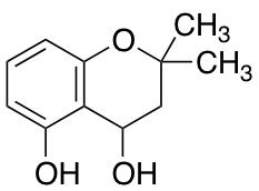 2,2-Dimethyl-3,4-dihydro-2H-1-benzopyran-4,5-diol