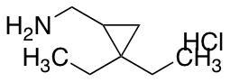 [(2,2-diethylcyclopropyl)methyl]amine hydrochloride