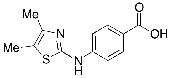 4-(4,5-Dimethylthiazol-2-ylamino)benzoic Acid