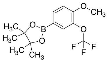 2-[4-Methoxy-3-(trifluoromethoxy)phenyl]-4,4,5,5-tetramethyl-1,3,2-dioxaborolane