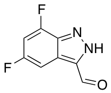 5,7-Difluoro 3-(1H) Indazole Carboaldehyde